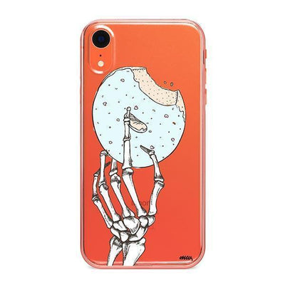 Crane Donut - Clear TPU - iPhone Case