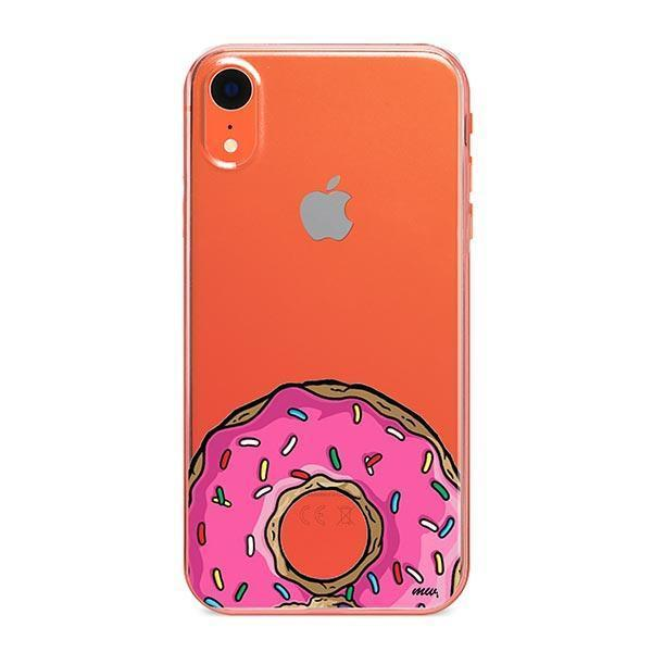D'ohnuts iPhone XR Case Clear