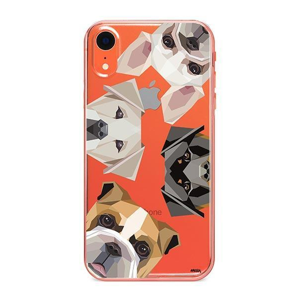 Dogs with Attitude - iPhone XR Clear Case