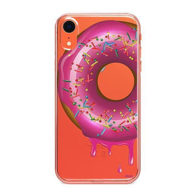 Dripping Donut - iPhone Clear Case