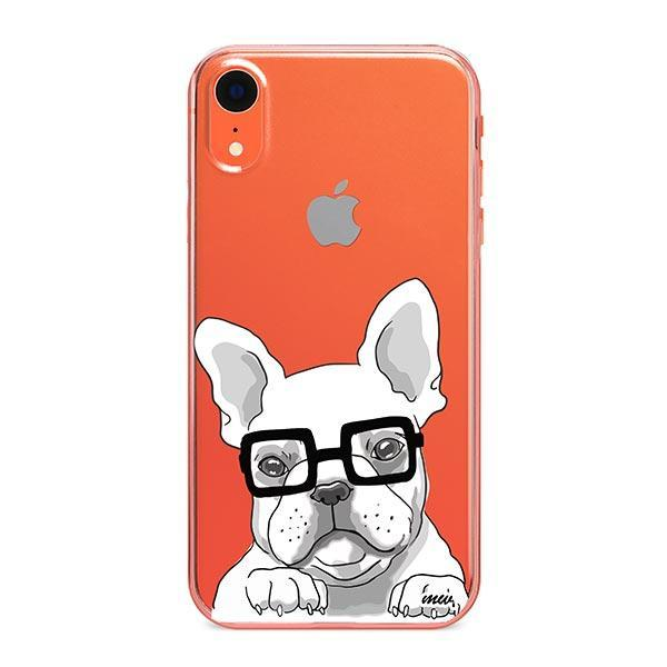 The Frenchie - iPhone XR Clear Case