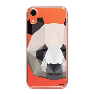 Geo Panda - iPhone Clear Case