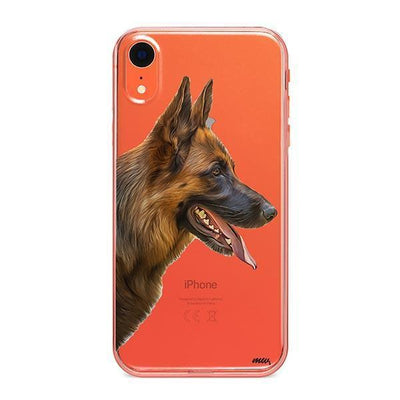 German Shepherd - iPhone Clear Case