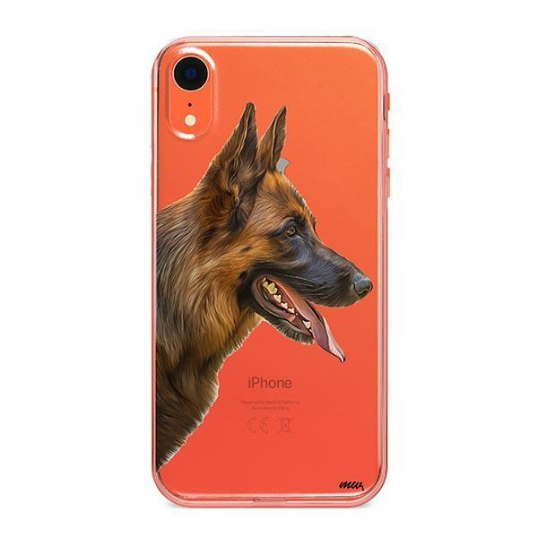 German Shepherd - iPhone XR Clear Case