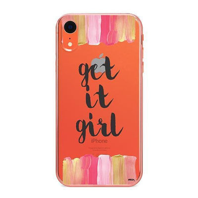 Get It Girl - iPhone Clear Case