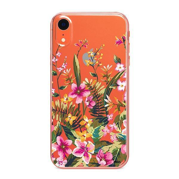 Growing Garden iPhone XR Case Clear