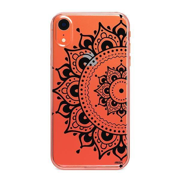 Hayley Mandala iPhone XR Case Clear