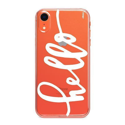 Hello - iPhone Clear Case