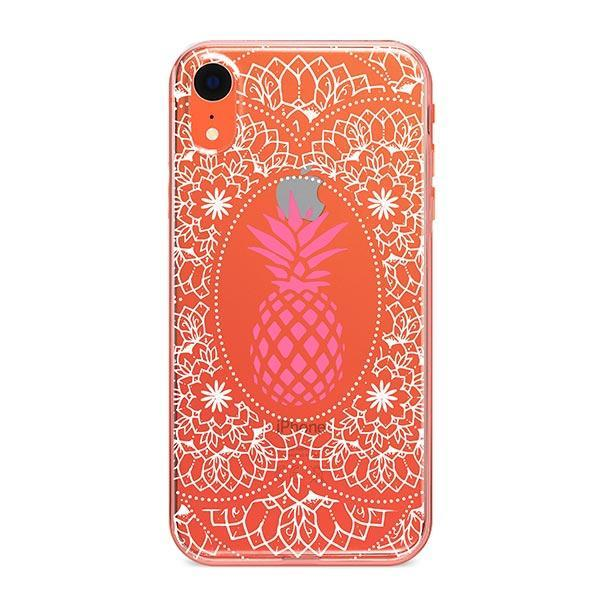Malibu Mandala iPhone XR Case Clear