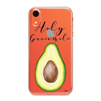 Holy Guacamole - iPhone Clear Case