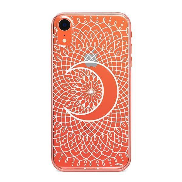 La Luna Mandala iPhone XR Case Clear
