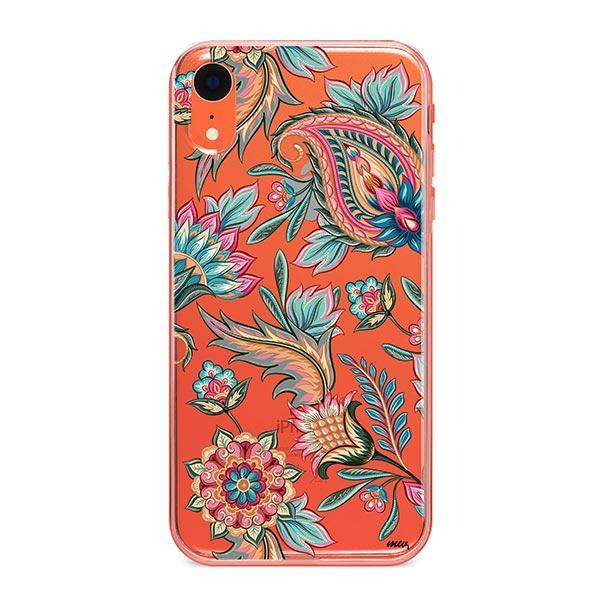 Lola Paisley iPhone XR Case Clear
