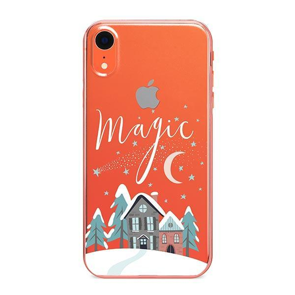 Christmas Magic iPhone XR Case Clear