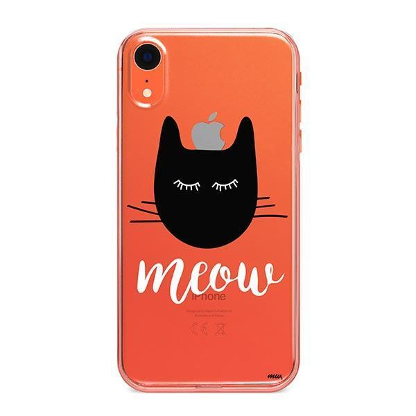 Meow - iPhone XR Clear Case