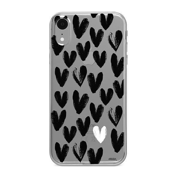 One Love iPhone XR Case Clear