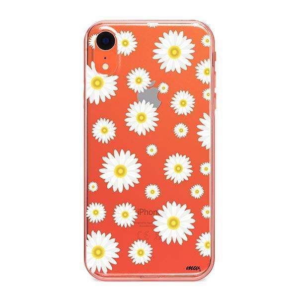 iphone xr case yellow flowers
