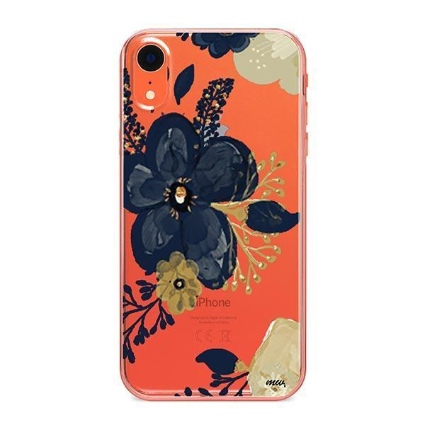 Oprah Floral iPhone XR Case Clear