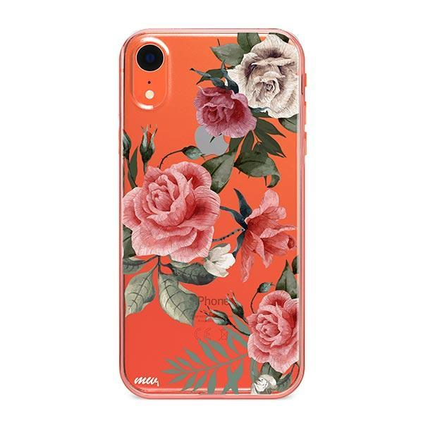 Petals iPhone XR Case Clear