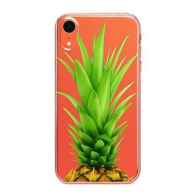 Pineapple Head - iPhone Clear Case
