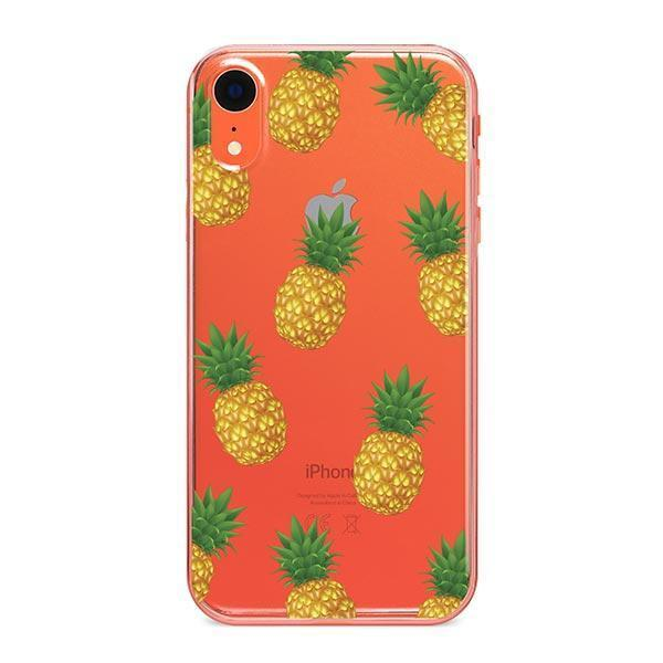 Pineapple Overload iPhone XR Case Clear