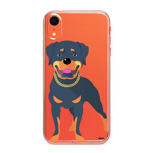 Rottweiler - iPhone XR Clear Case