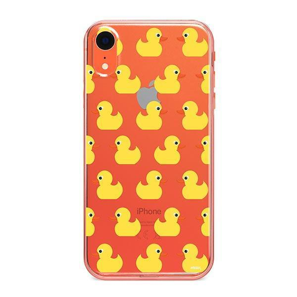 Rubber Ducky iPhone XR Case Clear