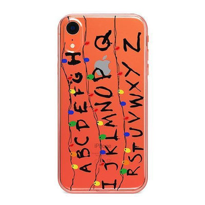 "Stranger Things ""RUN"" - iPhone Clear Case"