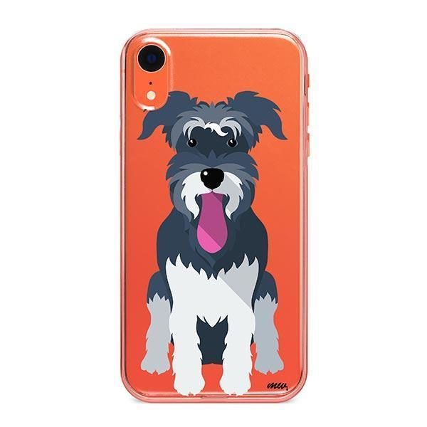 Schnauzer - iPhone XR Clear Case
