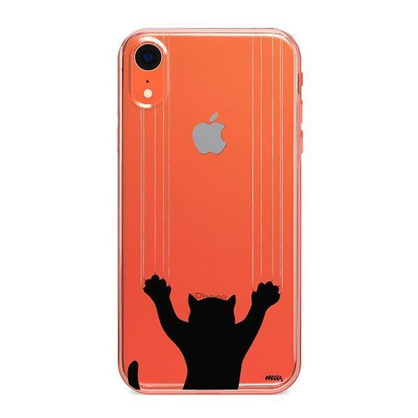 Scratchy Cat - iPhone XR Clear Case
