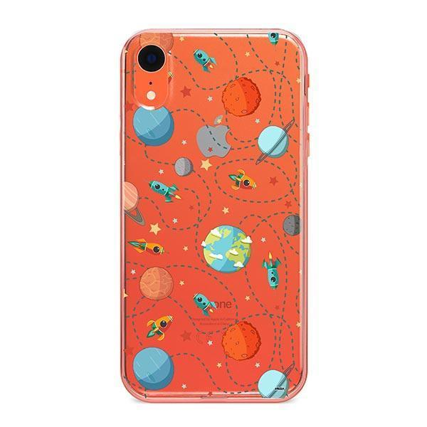 Space Case iPhone XR Case Clear