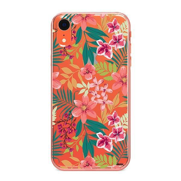 Summer Blossom iPhone XR Case Clear