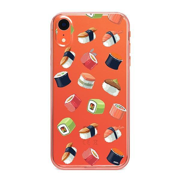 Sushi Lover iPhone XR Case Clear