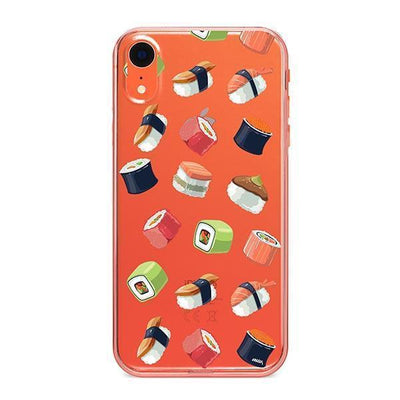 Sushi Lover - Clear TPU - iPhone Case