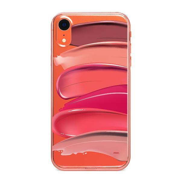 Swatches iPhone XR Case Clear