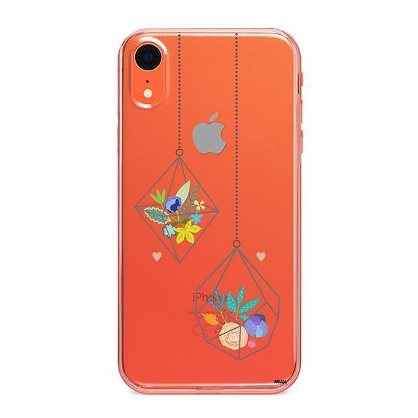 Terrarium iPhone XR Case Clear