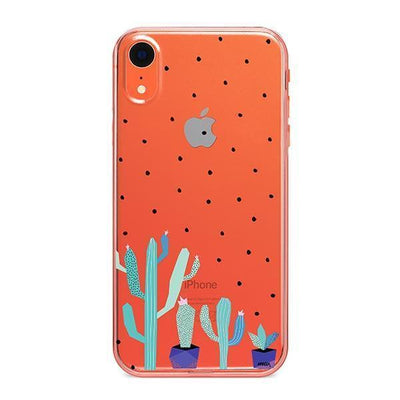 The Pricklies - Clear TPU - iPhone Case