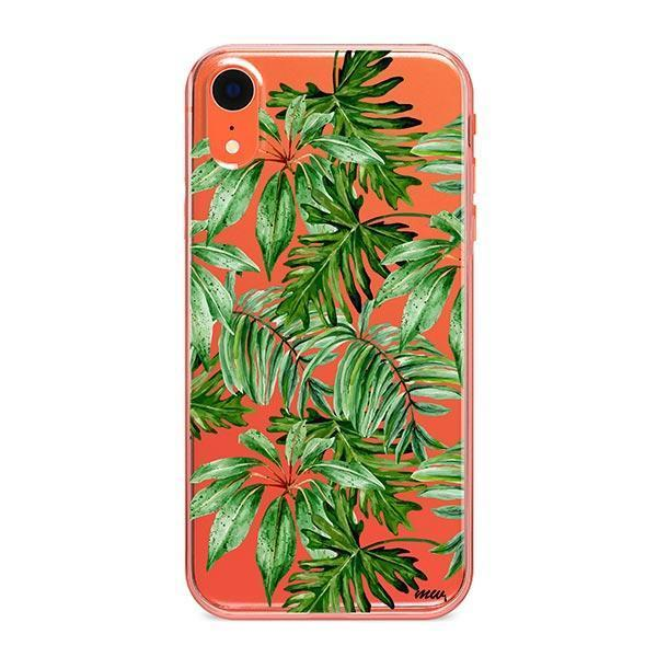 The Tropics iPhone XR Case Clear