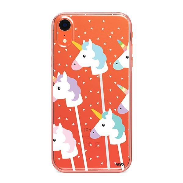 Unicorn Pops iPhone XR Case Clear