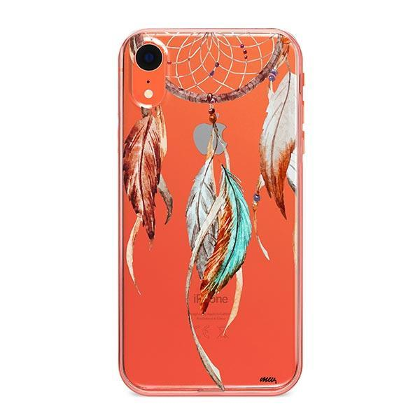 Watercolor Dreamcatcher iPhone XR Case Clear