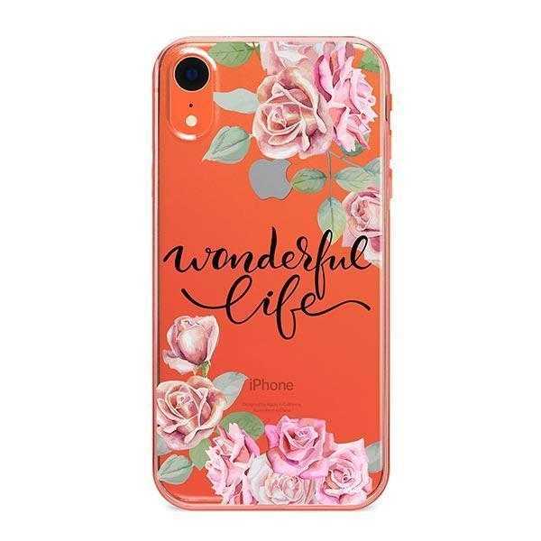 Wonderful Life - iPhone Clear Case