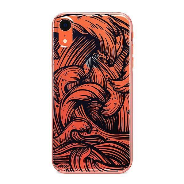 New Wave iPhone XR Case Clear