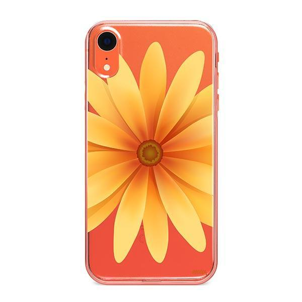Yellow Daisy iPhone XR Case Clear