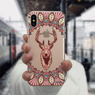 Beauteous Deer - iPhone XS Case Clear