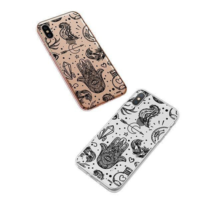 Gypsy Style iPhone XS Case Clear
