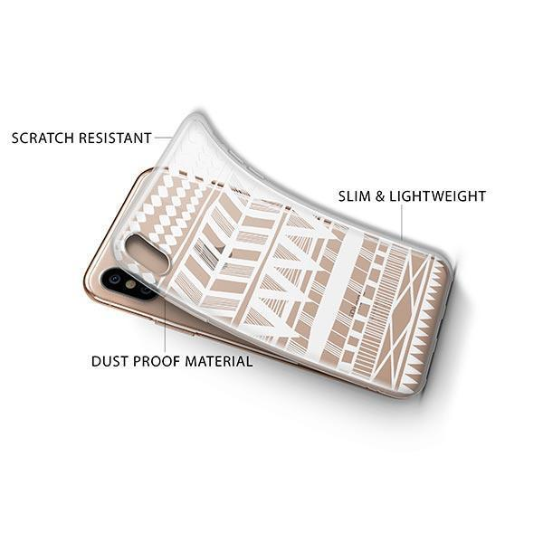 Itzli Henna iPhone XS Case Clear