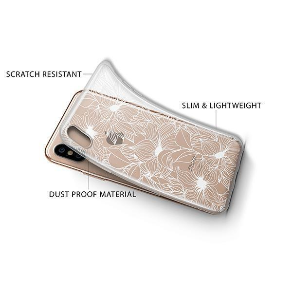 Henna Anastasia iPhone XS Case Clear