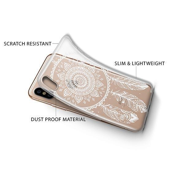 Henna Ojibwe iPhone XS Case Clear