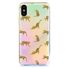 Leopard Leap  - Holographic iPhone Case