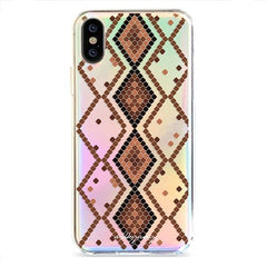 Snake Print - Holographic iPhone Case