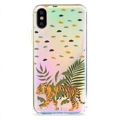 Tiger Park - Holographic iPhone Case